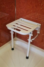 Shower Seat With Drop Down Legs